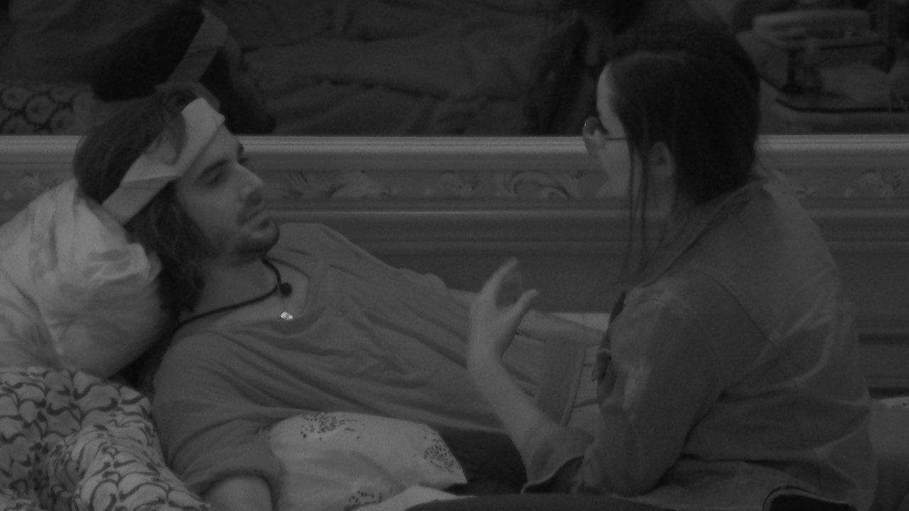 No BBB21, Juliette e Fiuk analisam a relação: 'Sinto um desprezo'