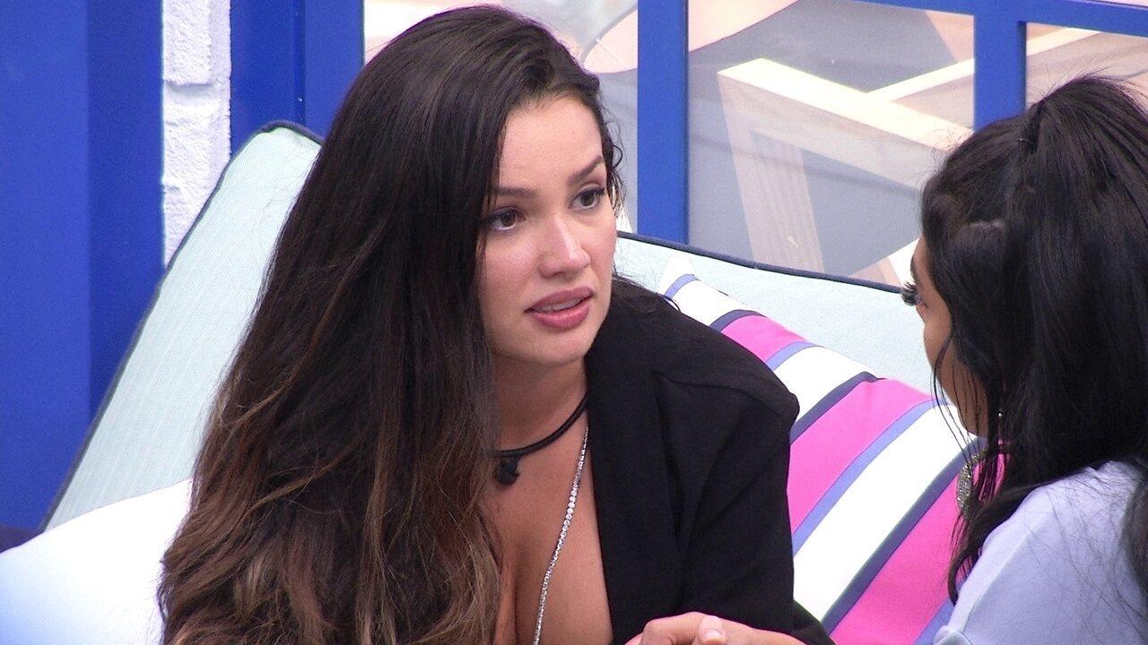Juliette desabafa com Pocah sobre relação das duas no BBB21: 'Eu não vou mais tentar'
