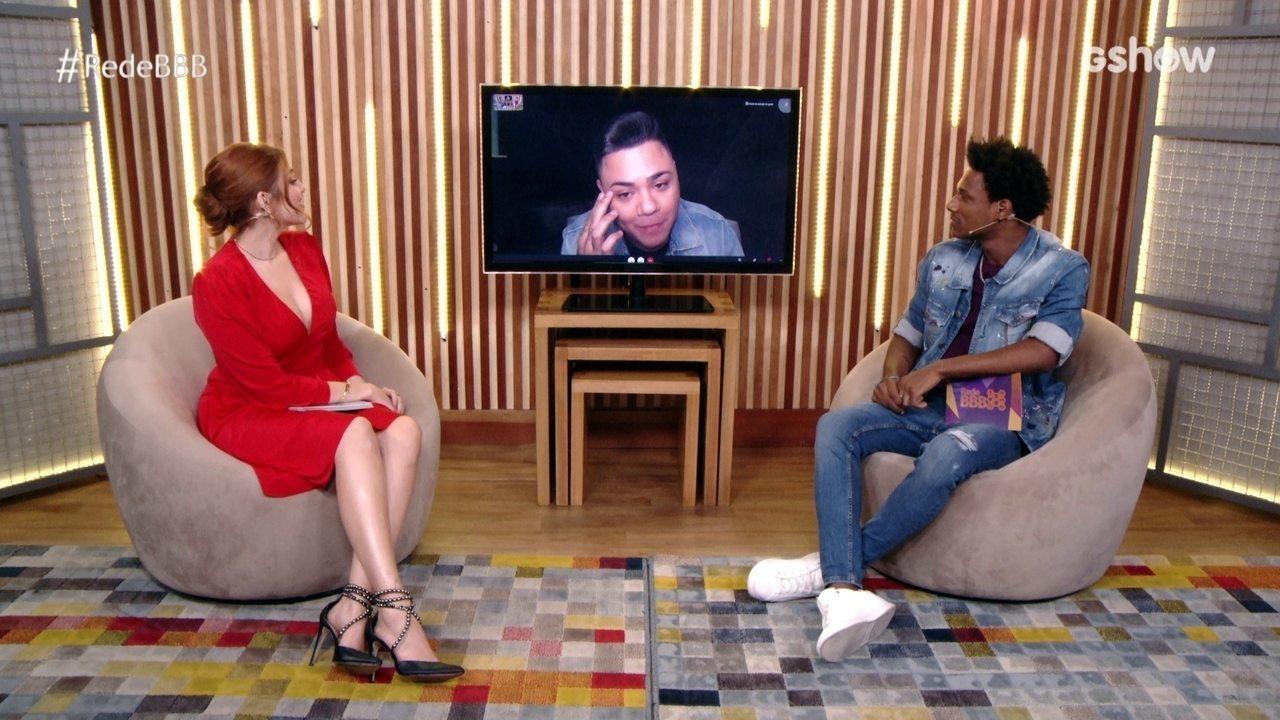 Felipe Araújo especula sobre jogo de Gilberto após a eliminação de Sarah
