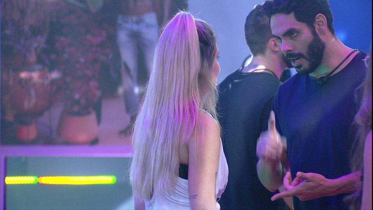 Rodolffo revela estar esperando que Gilberto e João Luiz deixem a Prova do Líder no BBB21