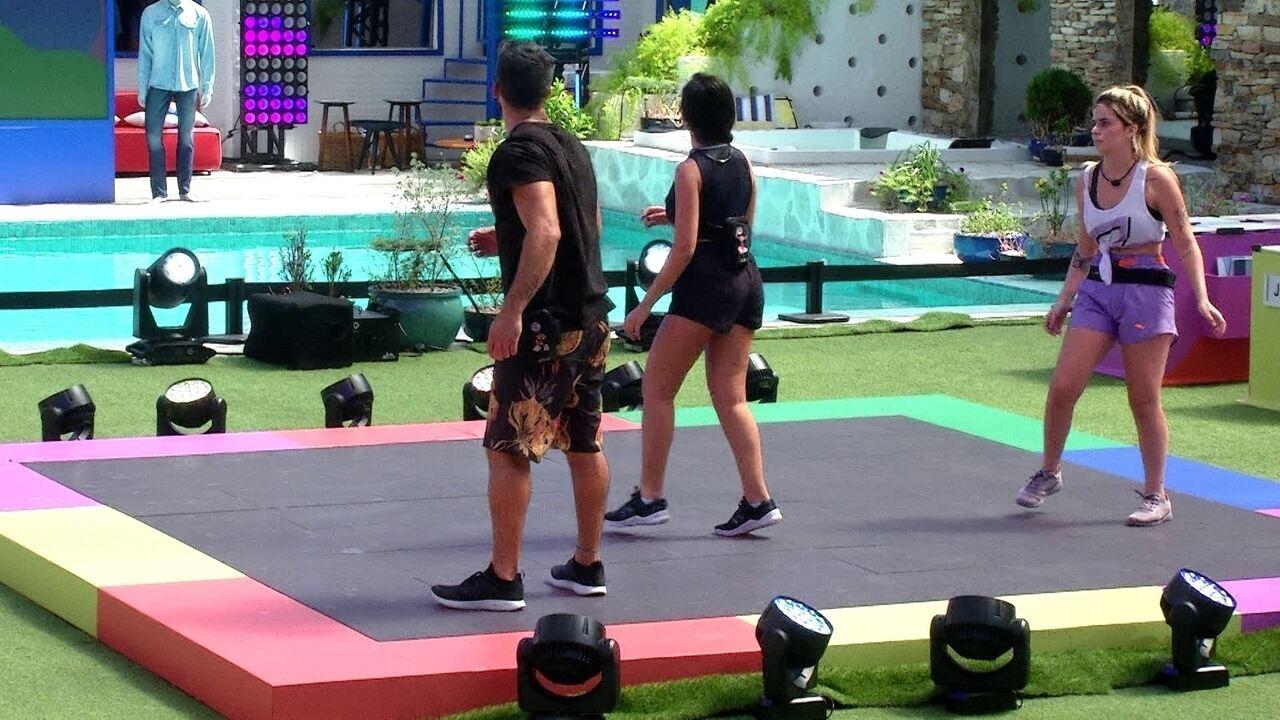 Juliette deixa a Prova do Líder Maratona de Dança C&A