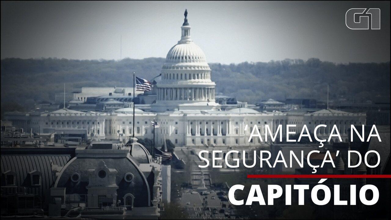 Capitólio dos EUA é fechado por 'ameaça na segurança
