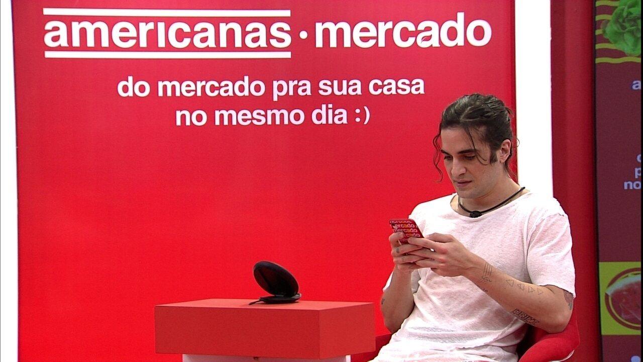 Fiuk e Gilberto são escolhidos para fazer compras da Xepa no BBB21