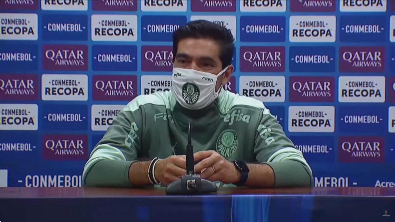 Rony e Abel Ferreira falam em coletiva, após vitória do Palmeiras sobre o Defensa Y Justicia