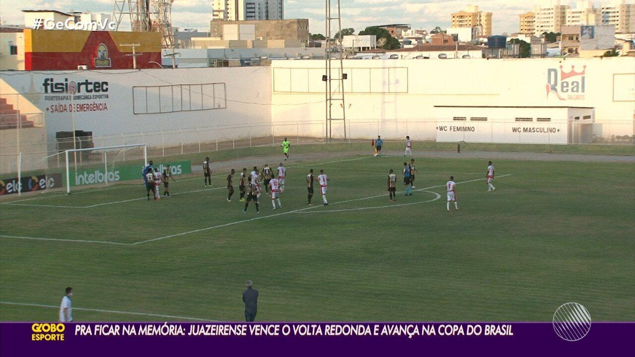 Após reação histórica e classificação, Kanu comenta jogo da Juazeirense e Volta Redonda