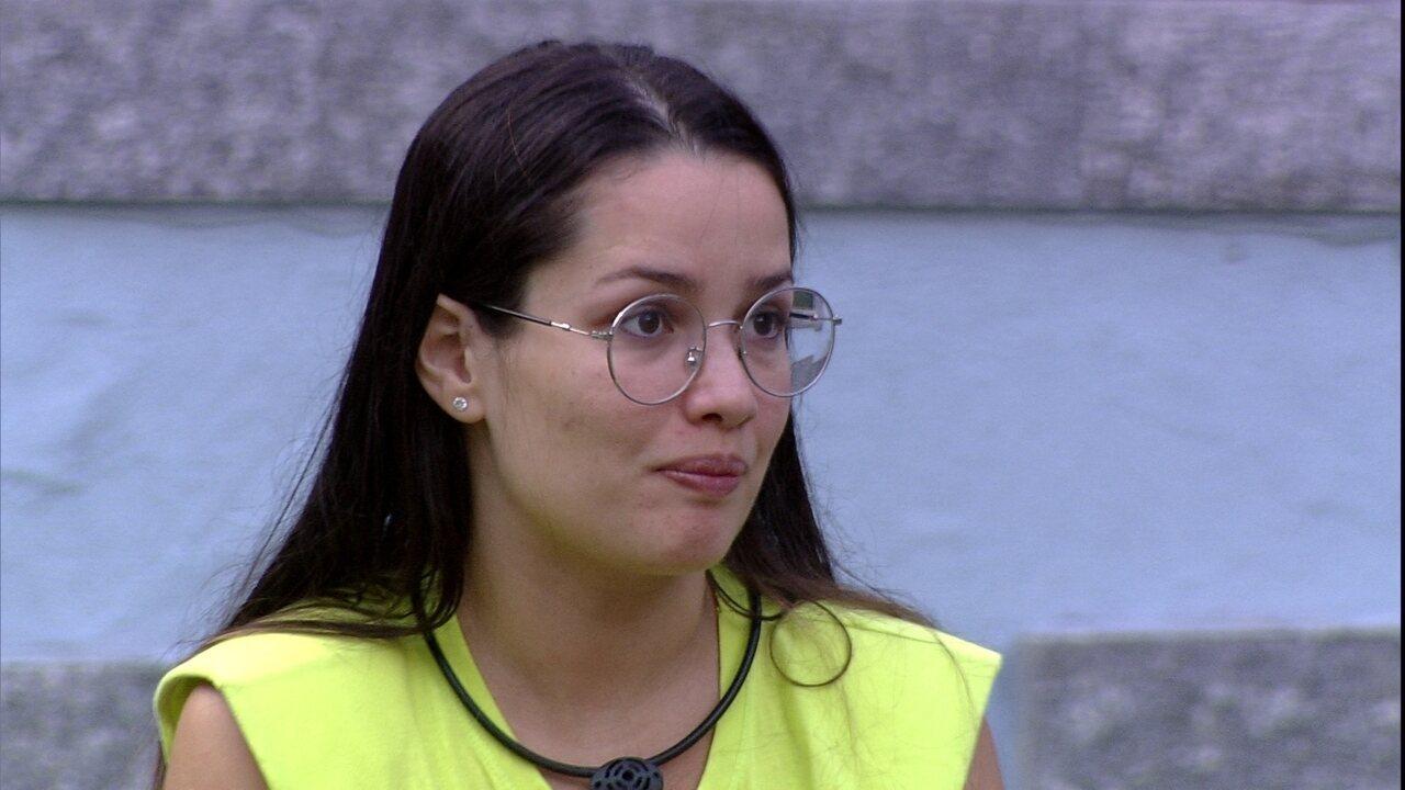 Juliette pontua para Thaís sobre relação com sister: 'Não há competição aqui´