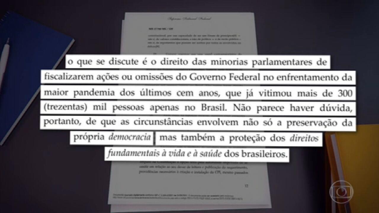 Barroso determina instalação da CPI da Covid no Senado