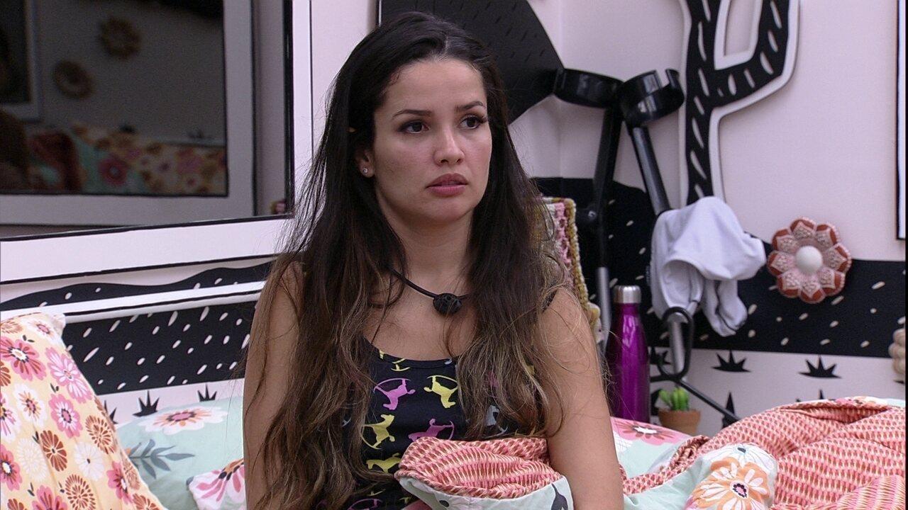 Juliette diz para Gilberto: 'Ele votou em você sem queimar voto'