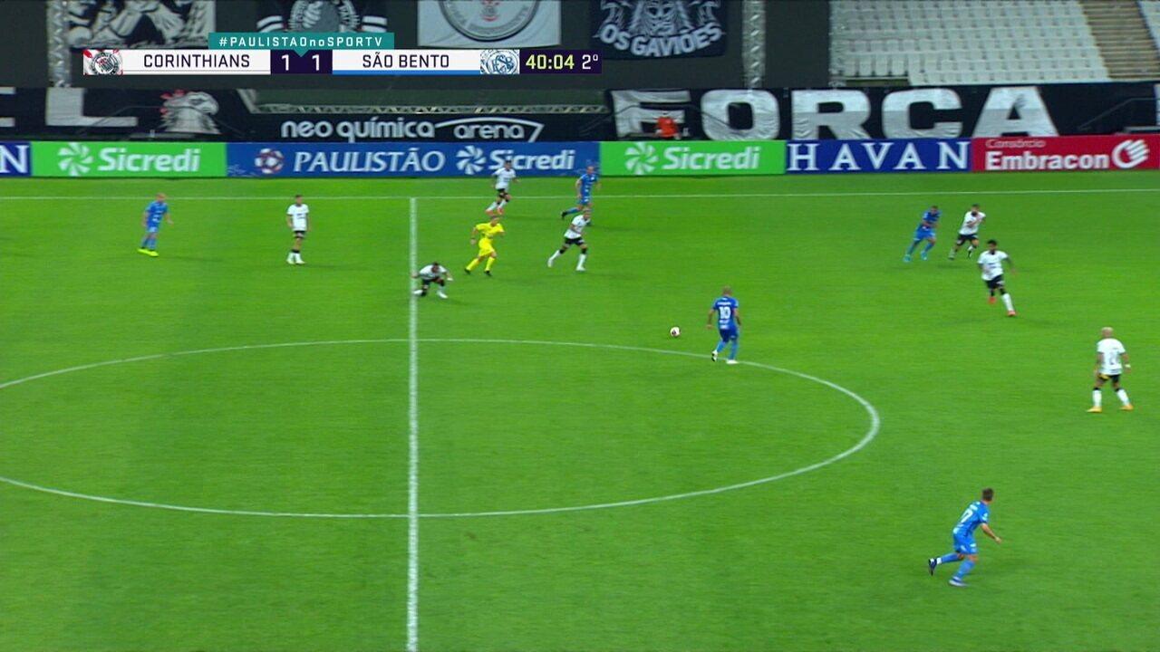 Melhores momentos: Corinthians 1 x 1 São Bento, pela 7ª rodada do Paulistão