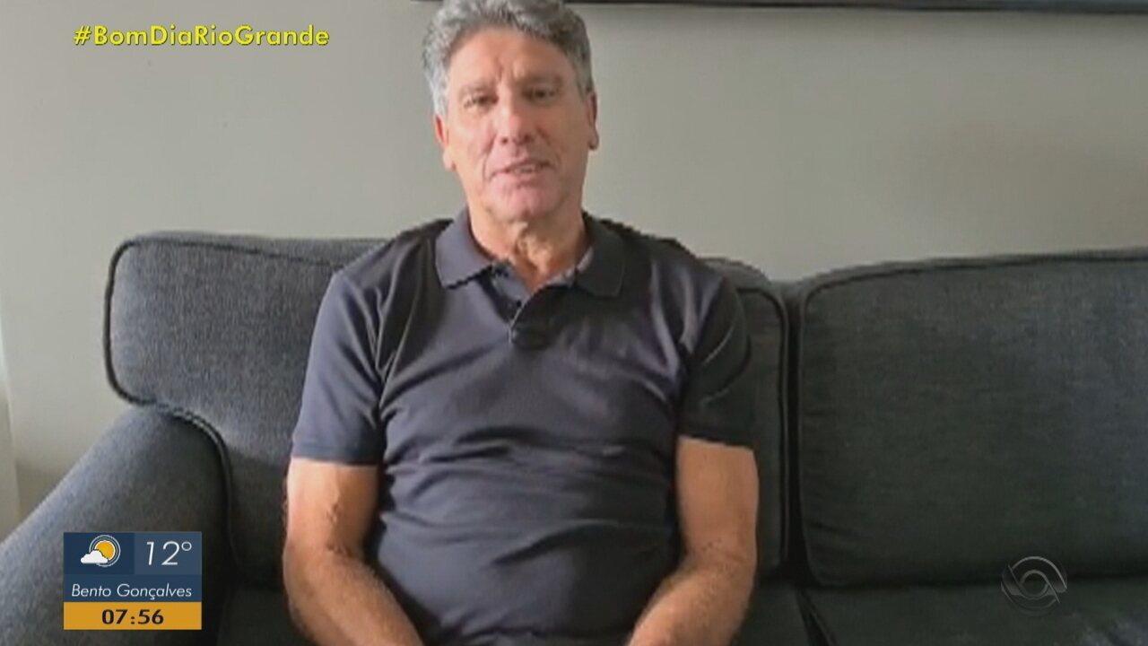 Renato Portaluppi fala pela primeira vez após saída do Grêmio