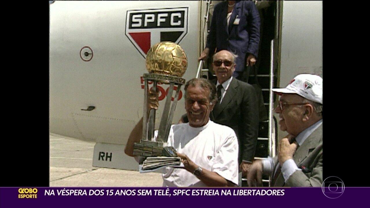 Na véspera dos 15 anos sem Telê, São Paulo estreia na Libertadores