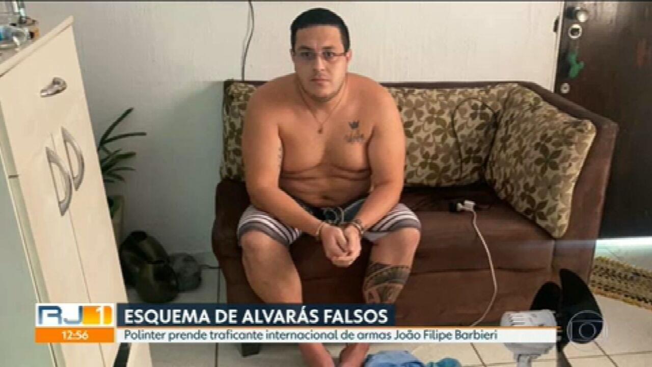 Traficante de armas que saiu da prisão com alvará falso é preso em Niterói