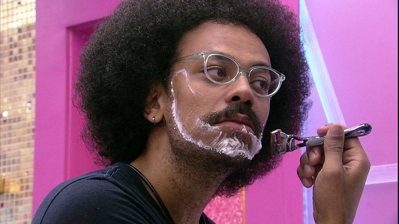 João Luiz afirma sobre Paredão do BBB21: 'Não consigo sentir medo'