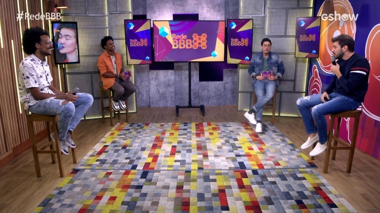 Mesa BBB: João Luiz e Caio apontam quem eles acreditam que estará no pódio do BBB21