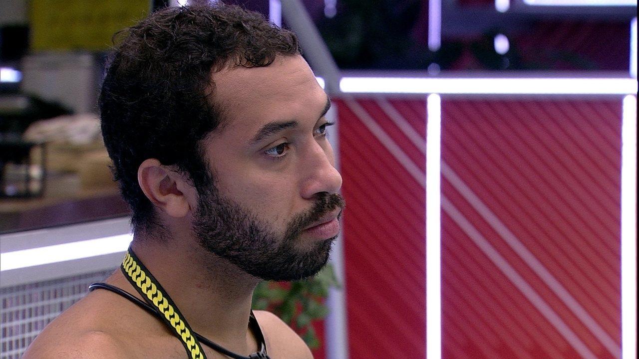 Gilberto dispara: 'Se eu viro Líder, qualquer cenário, você vai para o Paredão'