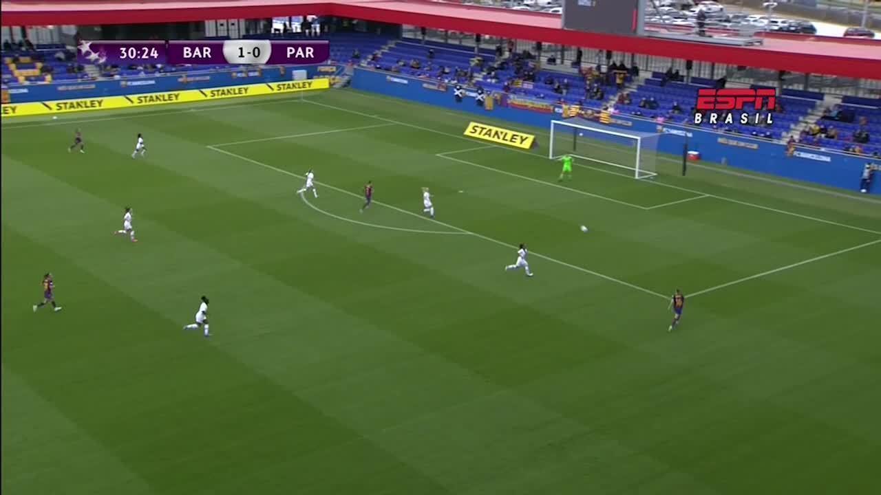 Os gols de Barcelona 2 x 1 PSG, pela Liga dos Campeões Feminina