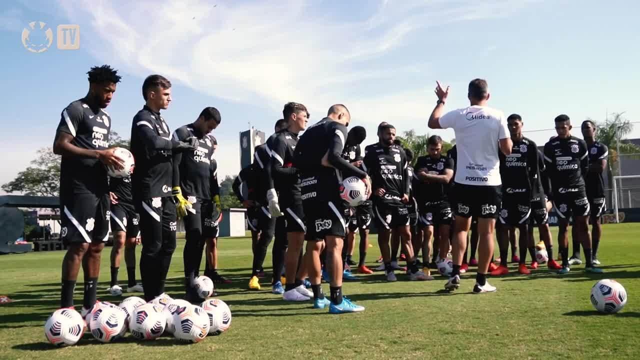 Após treino, Corinthians embarca para Lima em duelo pela Copa Sul-Americana