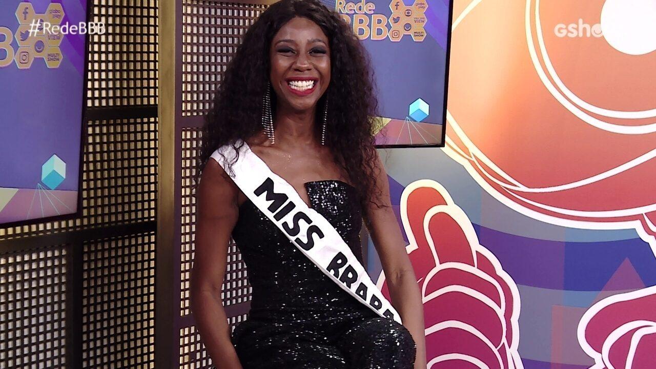 No Bate-Papo BBB, Camilla de Lucas ganha faixa de 'miss braba' e recebe recado de mãe