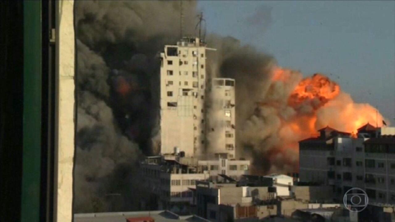 Violência entre israelenses e palestinos chega ao sexto dia