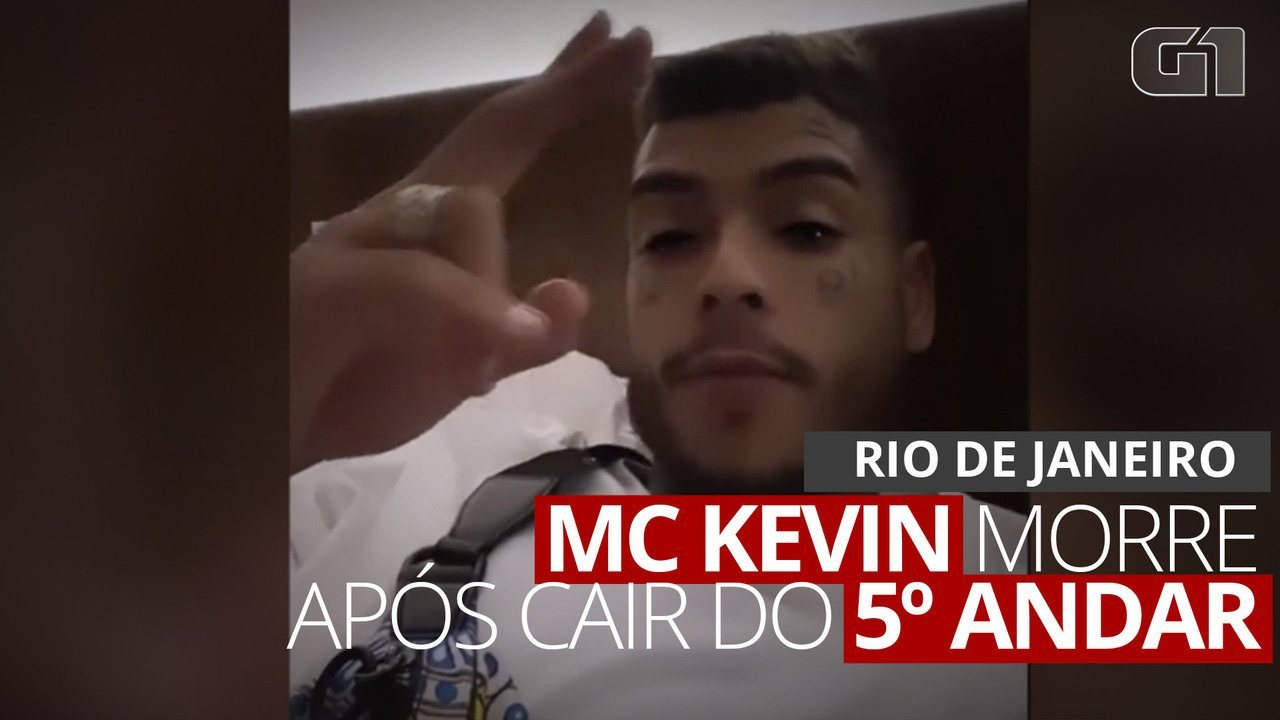 MC Kevin cai de 11º andar de hotel no Rio; assessoria confirma acidente e pede orações