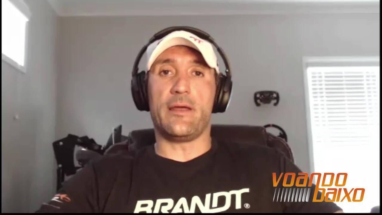 VOANDO BAIXO: Entrevista com Miguel Paludo antes da etapa do Texas da Nascar Xfinity