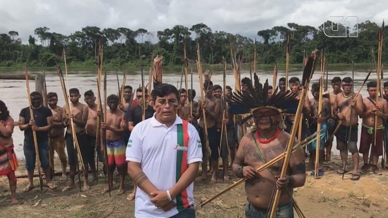 Presidente presidente do Condisi-Y relata medo e revolta de indígenas em Palimiú