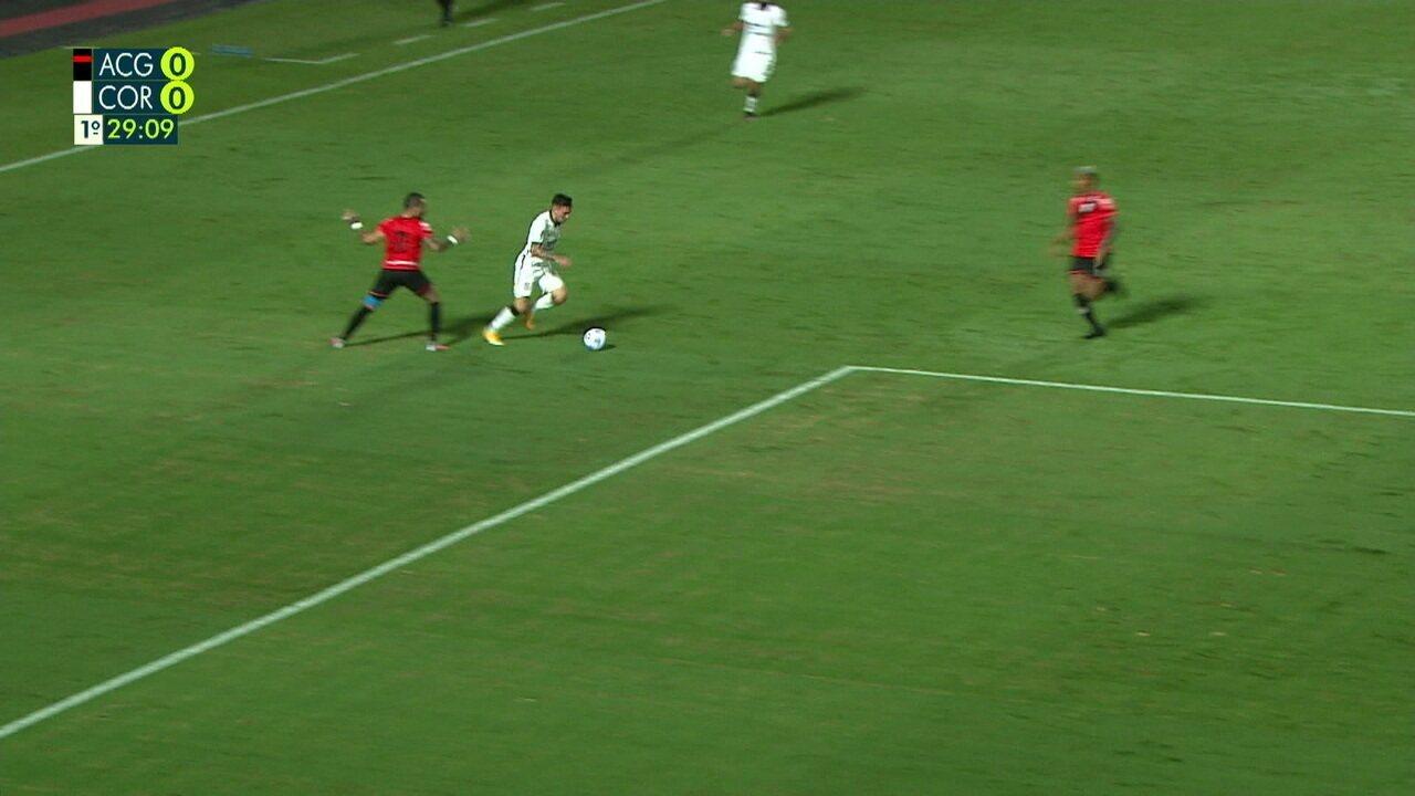 Melhores momentos: Atlético-GO 0 x 0 Corinthians pela 3ª fase da Copa do Brasil
