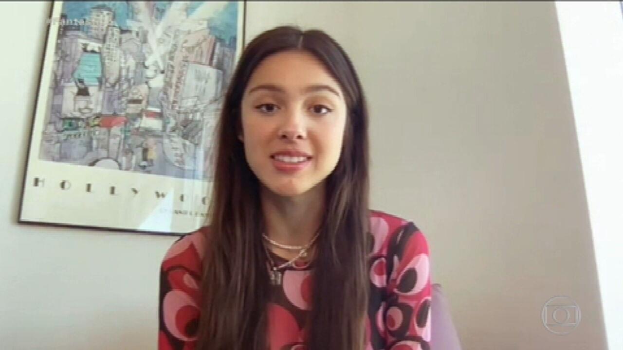 Olivia Rodrigo dá entrevista exclusiva ao Fantástico e diz: 'Meus fãs brasileiros são incríveis' | Fantástico | G1
