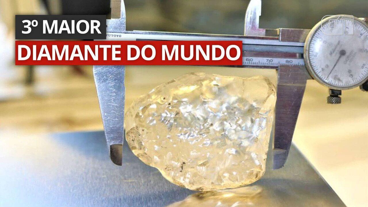 Vídeo: Um dos maiores diamantes do mundo é descoberto em Botsuana