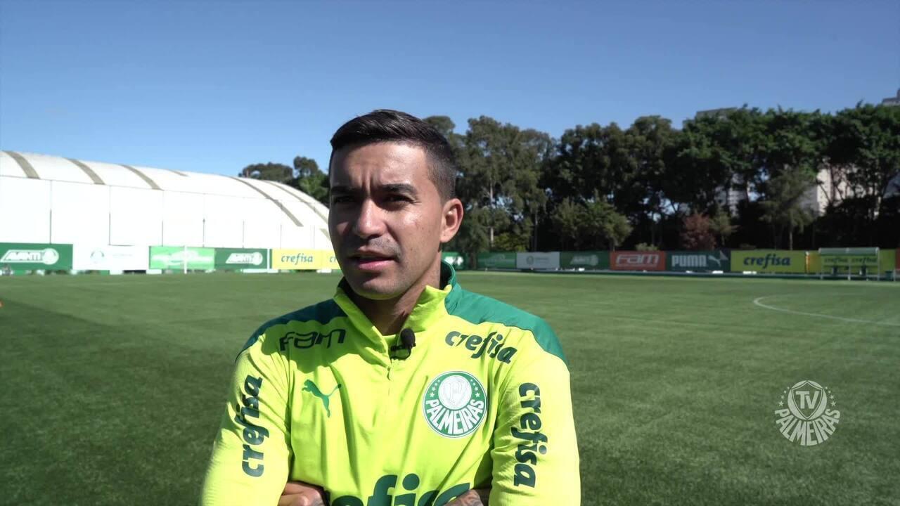 Dudu torce por reestreia pelo Palmeiras antes de agosto e fala da briga por títulos