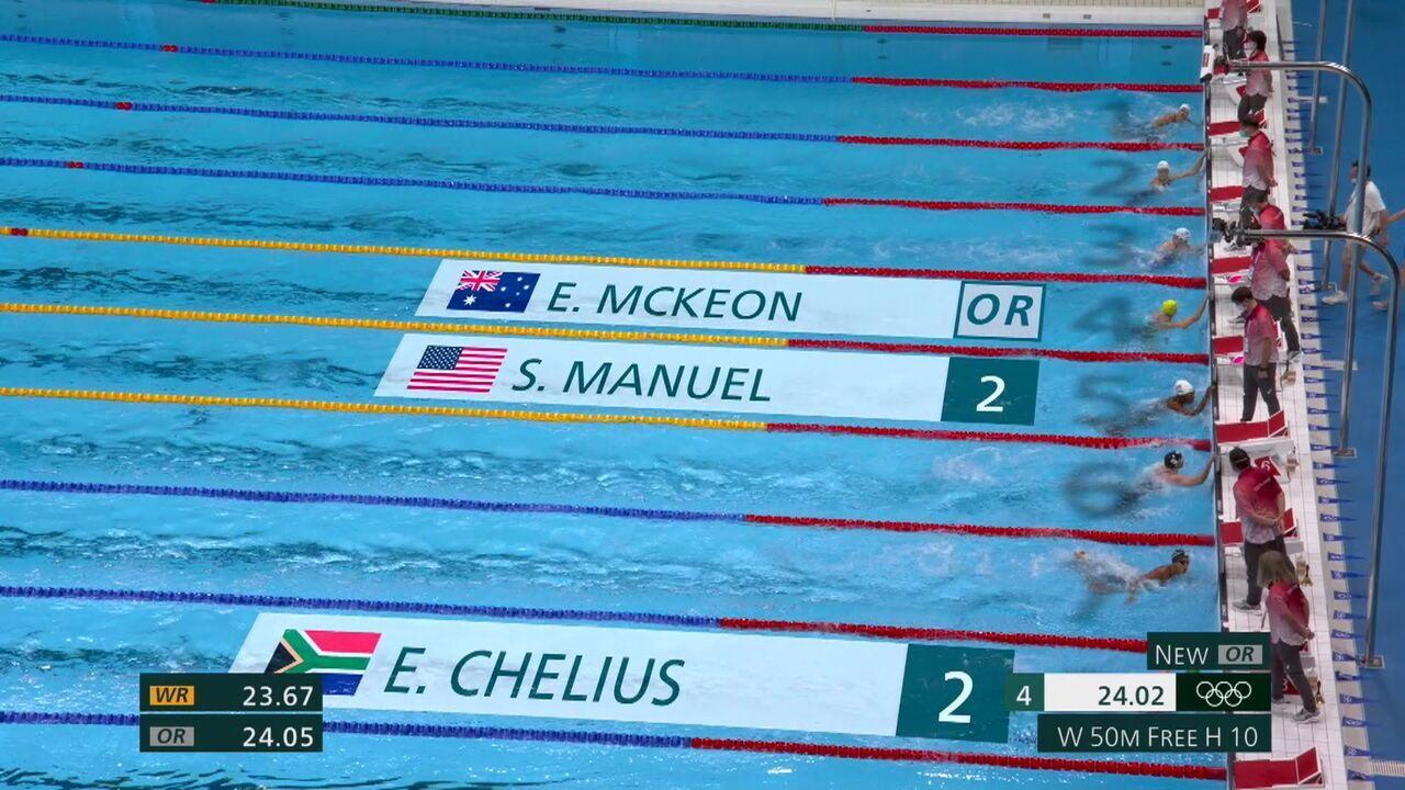 Etiene não consegue se classificar para a semifinal da natação feminina