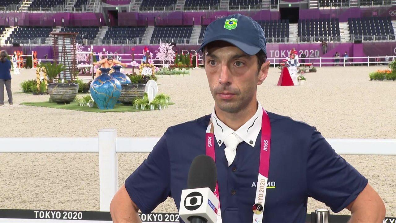 """""""É o limite do esporte equestre"""", Yuri Mansur termina final individual na 20º posição"""
