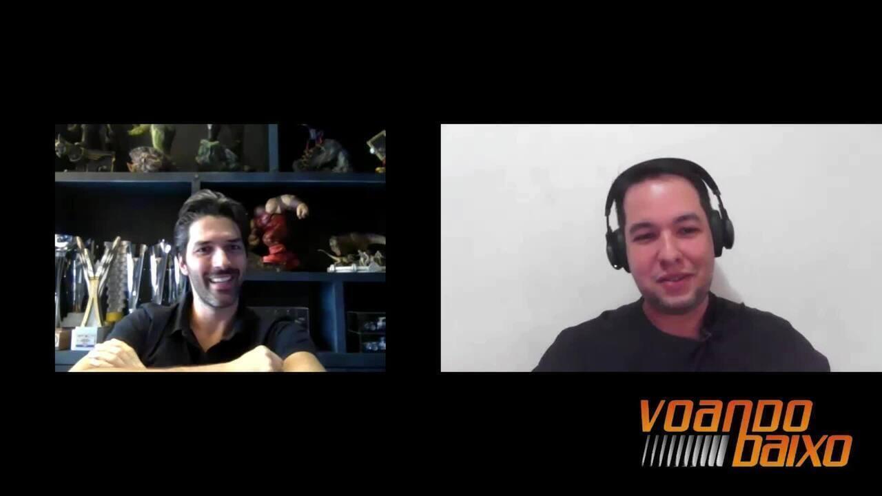 VOANDO BAIXO: Cupeiros #3 - entrevista com Renan Pizii