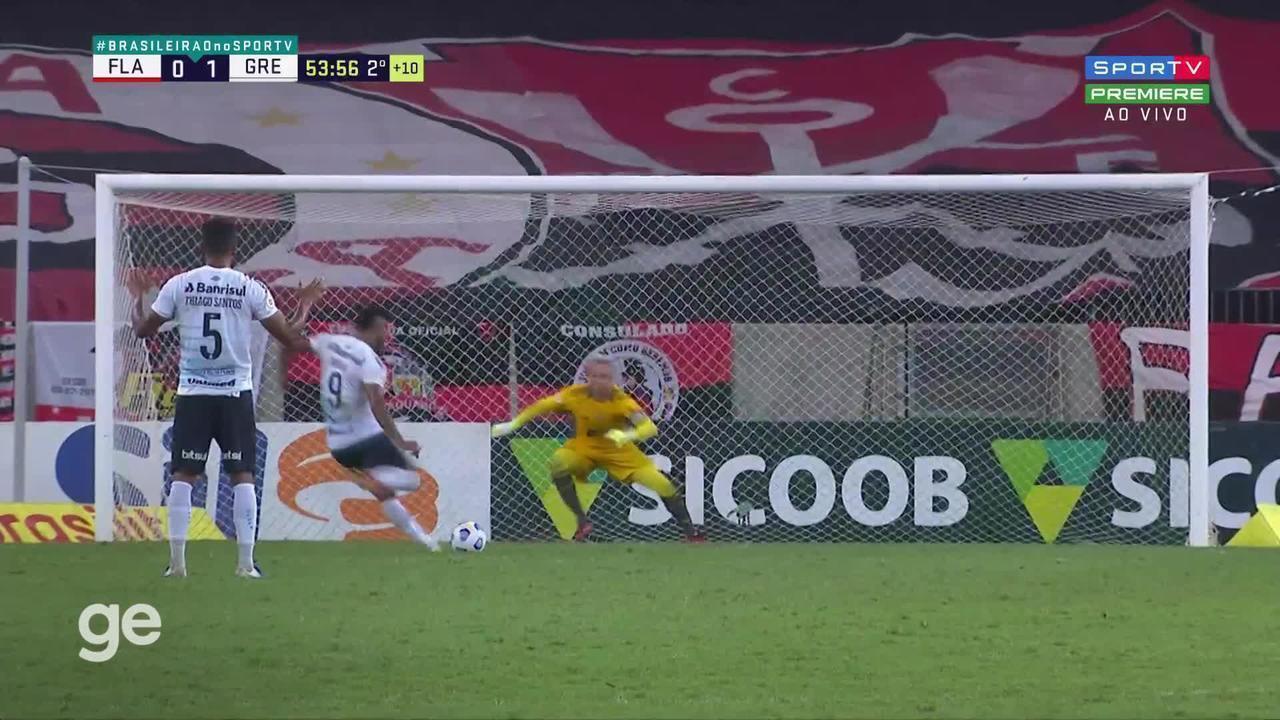 Melhores Momentos: Flamengo 0 x 1 Grêmio pela 21ª rodada do Brasileirão