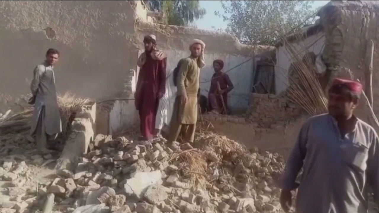 Terremoto provoca mortes e deixa mais de 300 feridos no Paquistão